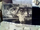 FOTO  FOTOGRAFIA BAMBINA AUTO CAR   10X7,5 1950 EY4690 - Automobili