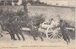 Camp De La Braconne - Mise En Batteie D'une Pièce De 75 - War 1914-18