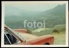 60s ORIGINAL AMATEUR PHOTO SOUTH AFRICA PORSCHE 911 CAR VOITURE MOZAMBIQUE PLATE RHD - Automobili
