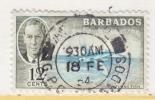 BARBADOS  222   (o) - Barbados (...-1966)