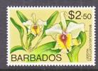 BARBADOS  409   **    Wmk.  Sideways   FLOWER - Barbados (1966-...)