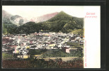Cartolina Carrara, Totalansicht Mit Bergpanorama - Carrara