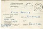 POSTKARTE ,STAMMLAGER III D,SOLDATO PRIGIONIERO ITALIANO,GERMANIA PER BENTIVOGLIO,BOLOGNA, 1944, - 1939-45