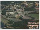 (284) Clemson University Stadium (with San Marino Stamp At Back Of Card) - Stadien