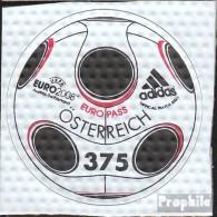 Autriche 2722 (complète.Edition.), Sur Matériel Le Em-Bälle Imprimé Neuf Avec Gomme Originale 2008 Football-em - 1945-.... 2nd Republic