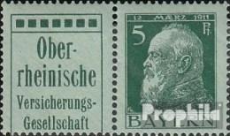 Bavière W1.51 Un Neuf Avec Gomme Originale 1911 Prince Regent Luitpold - Beieren