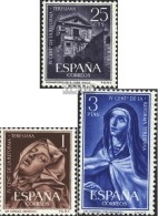 Espagne 1314-1316 (complète.Edition.) Neuf Avec Gomme Originale 1962 Ordre Des Carmes - 1961-70 Ungebraucht