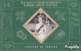 Gibraltar Bloc 104 (complète.Edition.) Neuf Avec Gomme Originale 2012 Queen Elizabeth Ii - Gibraltar