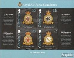 Gibraltar Bloc 105 (complète.Edition.) Neuf Avec Gomme Originale 2012 Royal Air Force - Gibraltar