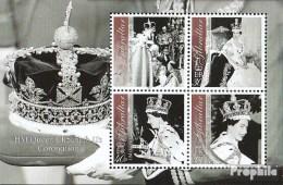 Gibraltar Bloc 53 (complète.Edition.) Neuf Avec Gomme Originale 2003 Queen Elizabeth Ii - Gibilterra