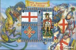 Gibraltar Bloc 55 (complète.Edition.) Neuf Avec Gomme Originale 2003 Légende De Hl. Georg - Gibilterra
