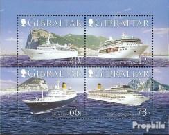 Gibraltar Bloc 73 (complète.Edition.) Neuf Avec Gomme Originale 2006 Kreuzfahrtschiffe - Gibilterra