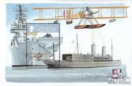 Gibraltar Bloc 88 (complète.Edition.) Neuf Avec Gomme Originale 2009 Aéronefs Le Marine - Gibraltar