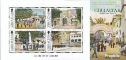 Gibraltar Block108 (complète.Edition.) Neuf Avec Gomme Originale 2012 Antérieure Vues Gibraltar - Gibraltar