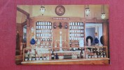 > Disney > Disneyland  Late 19 Century Prescription Counter  In UpJohn Pharmacy --------   Ref 1975 - Disneyland