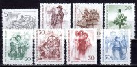 Berlin 1969 Mi. 330-337 ** Berliner Des 19. Jahrhunderts Postfrisch (br0210) - Ungebraucht