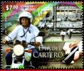 Ref. MX-V2014-44 MEXICO 2014 POST, POSTMAN'S DAY,, MOTORCYCLE, MOTORBIKE, MNH 1V - Motos