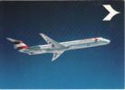 Aviation Postcard Austrian Airlines Douglas DC-9 Super 80 MD-80 Aircraft - 1946-....: Moderne