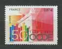 France 2011 - N° 4563  -  Cinquantenaire De L'OCDE - Neuf ** - France