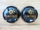 LOT DE 2 Capsules De Champagne Club Des étoiles ASSE Les Verts Nicolas Feuillatte - Feuillate