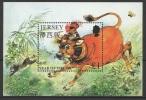 GB - Jersey (1997) Yv. Bf. 15  /  Boeuf - OX - Chinese New Year - Chinees Nieuwjaar