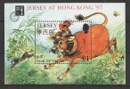 GB - Jersey (1997) Yv. Bf. 16  /  Boeuf - OX - Chinese New Year - Chinees Nieuwjaar