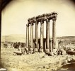 Moyen-Orient Proche Orient Liban Ruines De Baalbeck Ancienne Photo 1880 - Ancianas (antes De 1900)