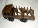 CAMION  MILITARE  CON  SOLDATINI - (2) - Toy Memorabilia