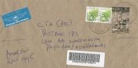 Kenya 2006 Amagoro Crossification Jesus Flowers Barcoded Registered Cover - Kenia (1963-...)