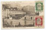 Italia: FIUME, Le Cinque Giornate Di Fiume, Explosioni Del Ponti A Sussak, Stampa Rodolfo Granitz, Belle Obliteration - Italie