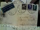 6 BUSTE STORIA POSTALE 1 VIA AEREA X CONCOREZZO MILANO 1940/45 EY4764 - Storia Postale