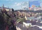 D21103 CARTE MAXIMUM CARD FD 2014 LUXEMBOURG - PANORAMA CITY WALLS WORLD HERITAGE - CP ORIGINAL - Architecture