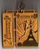 Médaille Concurrent 20 Kilomètres De Paris 2010 : Sans Ruban - Unclassified