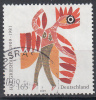 Duitsland - 100. Geburtstag Von HAP Grieshaber - Schilder/Graficus/Houtsnijder - Gebruikt/gebraucht/used - Michel 2722 - Gebruikt