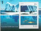 Australia MNH SS And Overprinted SS - Marine Life