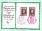 AUT1. Semaine Philatélique. Graz 7.6.1947. + 15.6.1947 =1er Et Dernier Jour. - Interi Postali