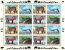 WWF - Feuillet 1997 Endangered Species Espèces Menacées D´extinction - W.W.F.