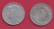 FRANCE, 1945, VF , Circulated 2 Franc Coin, Aluminium, KM 886a.2, C2890 - I. 2 Francs