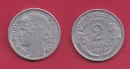 FRANCE, 1947, VF , Circulated 2 Franc Coin, Aluminium, KM 886a.2, C2892 - France