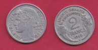FRANCE, 1948, VF , Circulated 2 Franc Coin, Aluminium, KM 886a.2, C2893 - France