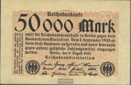 Deutsches Reich Rosenbg: 98 Gebraucht (III) 1923 50.000 Mark - [ 3] 1918-1933 : Weimar Republic