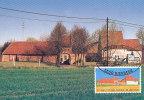 D21176 CARTE MAXIMUM CARD 2001 BELGIUM - FARMHOUSE BIERBEEK LEUVEN CP ORIGINAL - Architecture