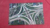 Michigan> Detroit  Interchange On Detroit Expressways  Ref 1975 - Detroit