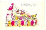 Carte Postale, Carneval, 1902, France - Europe