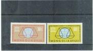 MONGOLEI  , MONGOLIA  , 1963 , ** ,  Postfrisch , MNH , Mi.Nr. 343 - 344 - Mongolia