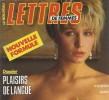 Le Nouveau Lettres De Femmes N°22 Plaisirs De Langue De 1989 - Bücher, Zeitschriften, Comics
