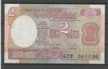 INDE  : 2 RUPEE  NEUF - India