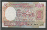 INDE  : 2 RUPEE  NEUF - Inde