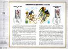 Feuillet Tirage Limité CEF 210 Championna Du Monde Cyclistes Gap Marseille Vélo Sport - Ciclismo