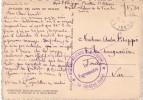 ISERE - GUERRE 39-45 - HOPITAL MILITAIRE DE GRENOBLE * LA TRONCHE * EN 1941 - CARTE POSTALE EN FM. - Guerre De 1939-45